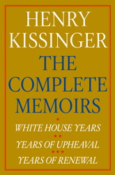 Henry Kissinger The Complete Memoirs E-book Boxed Set