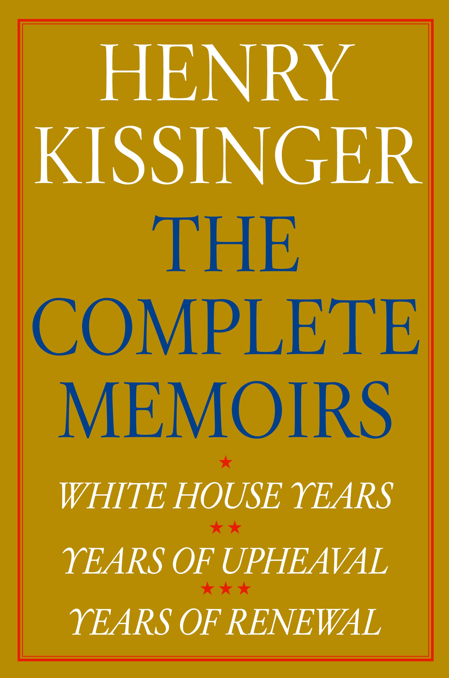 Henry kissinger diplomacy thesis