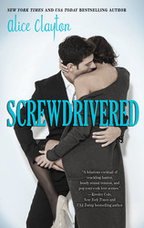 Screwdrivered book cover