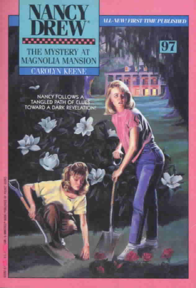 Image result for mystery in the magnolia mansion nancy drew
