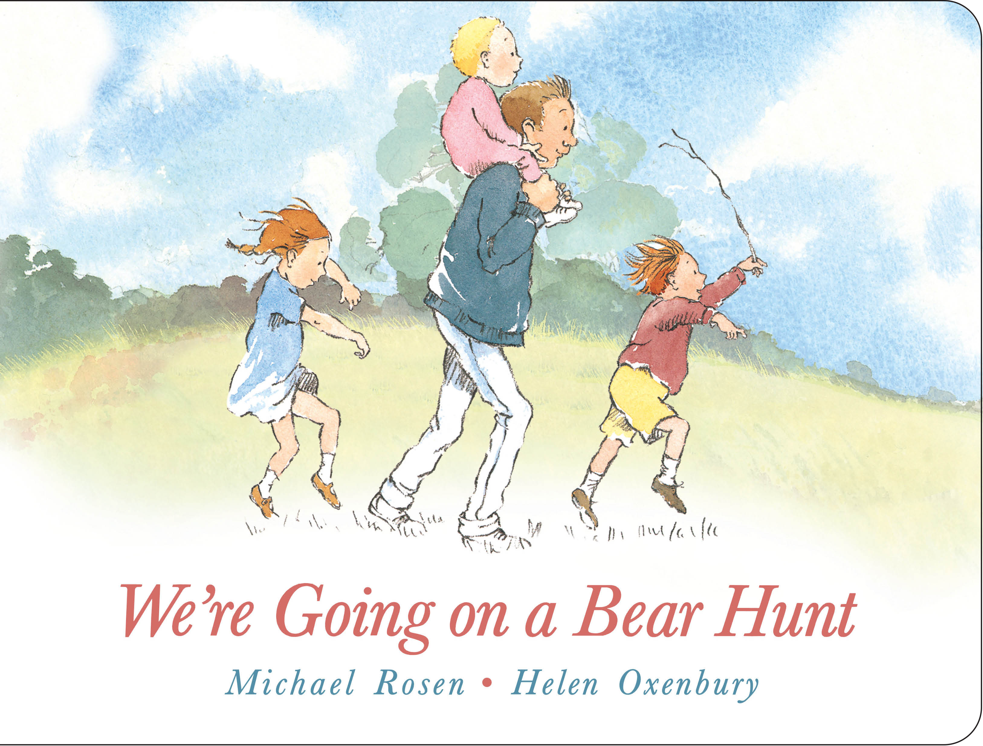 we 39 re going on a bear hunt book by michael rosen helen oxenbury official publisher page. Black Bedroom Furniture Sets. Home Design Ideas