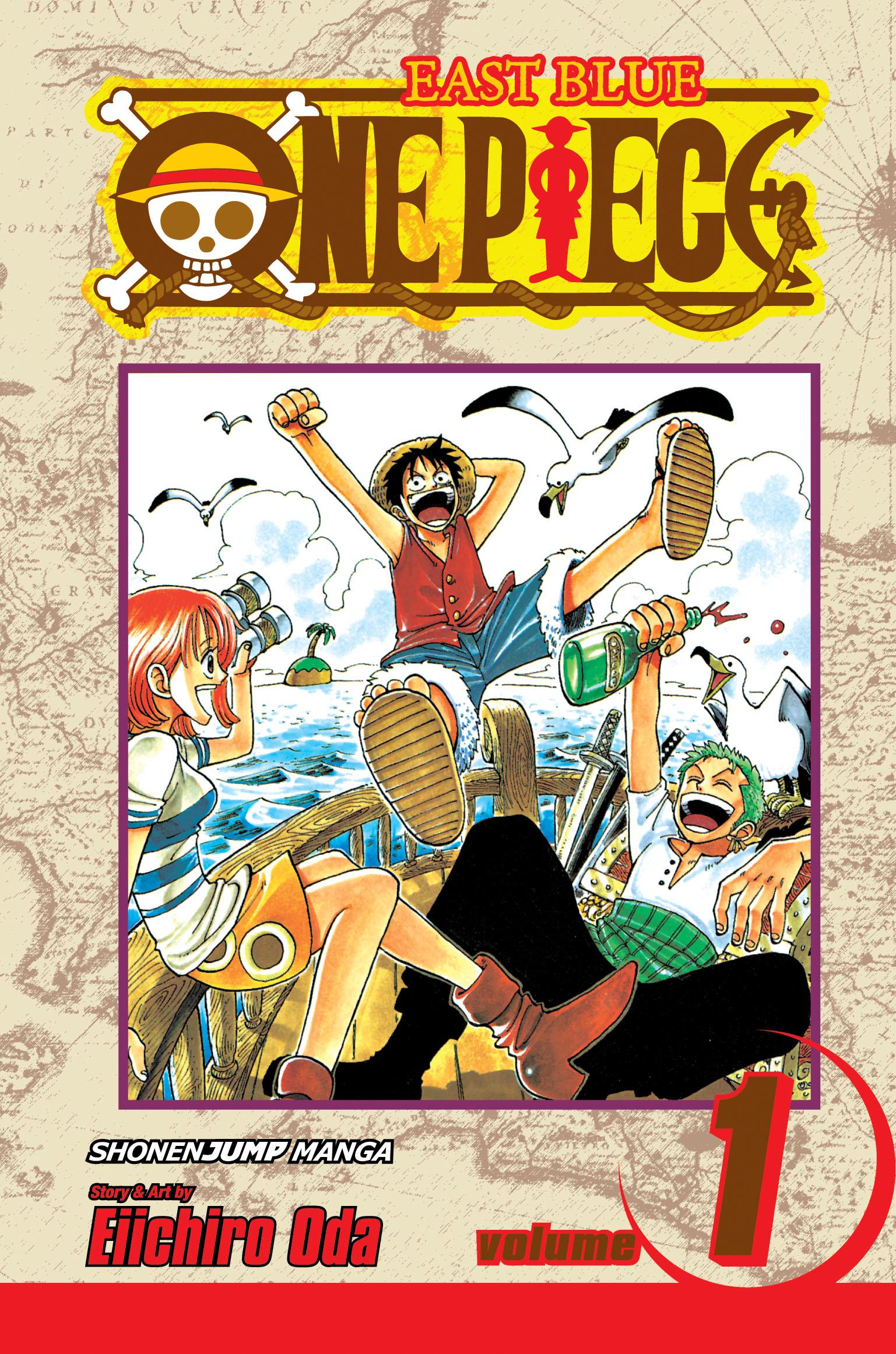 One Piece, Vol. 1   Book by Eiichiro Oda   Official ...
