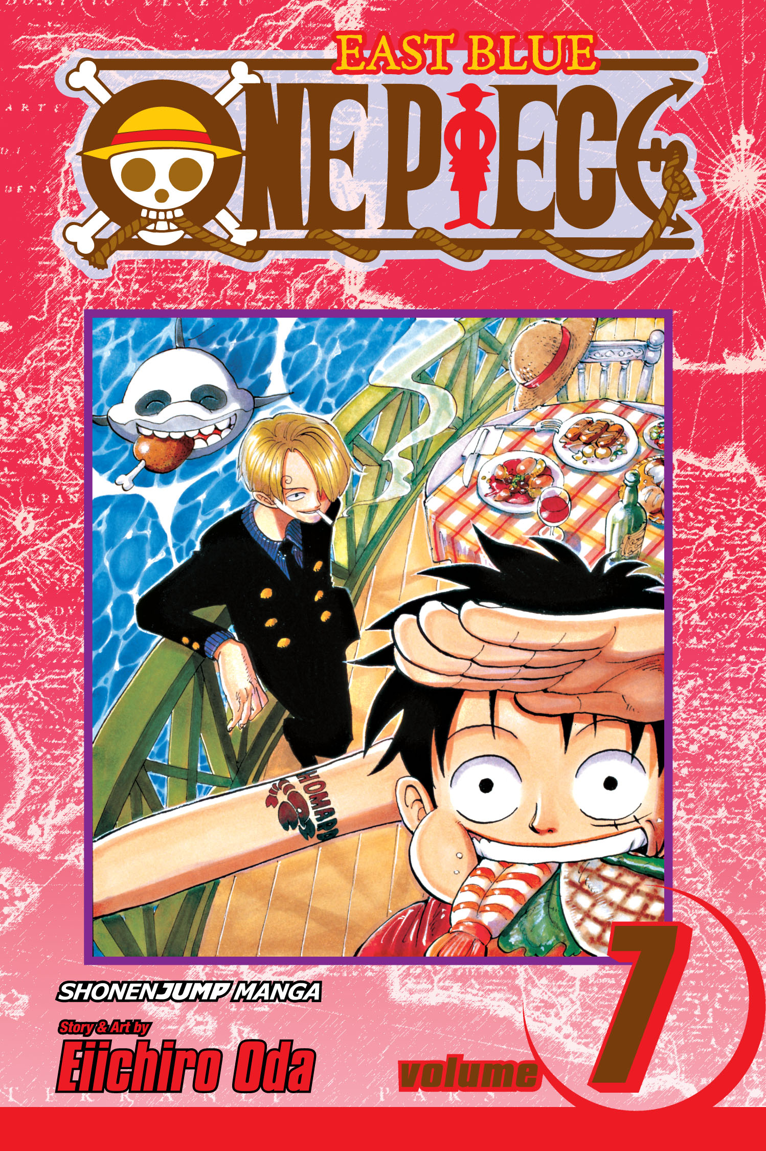 One Piece, Vol. 7   Book by Eiichiro Oda   Official Publisher Page   Simon & Schuster Canada