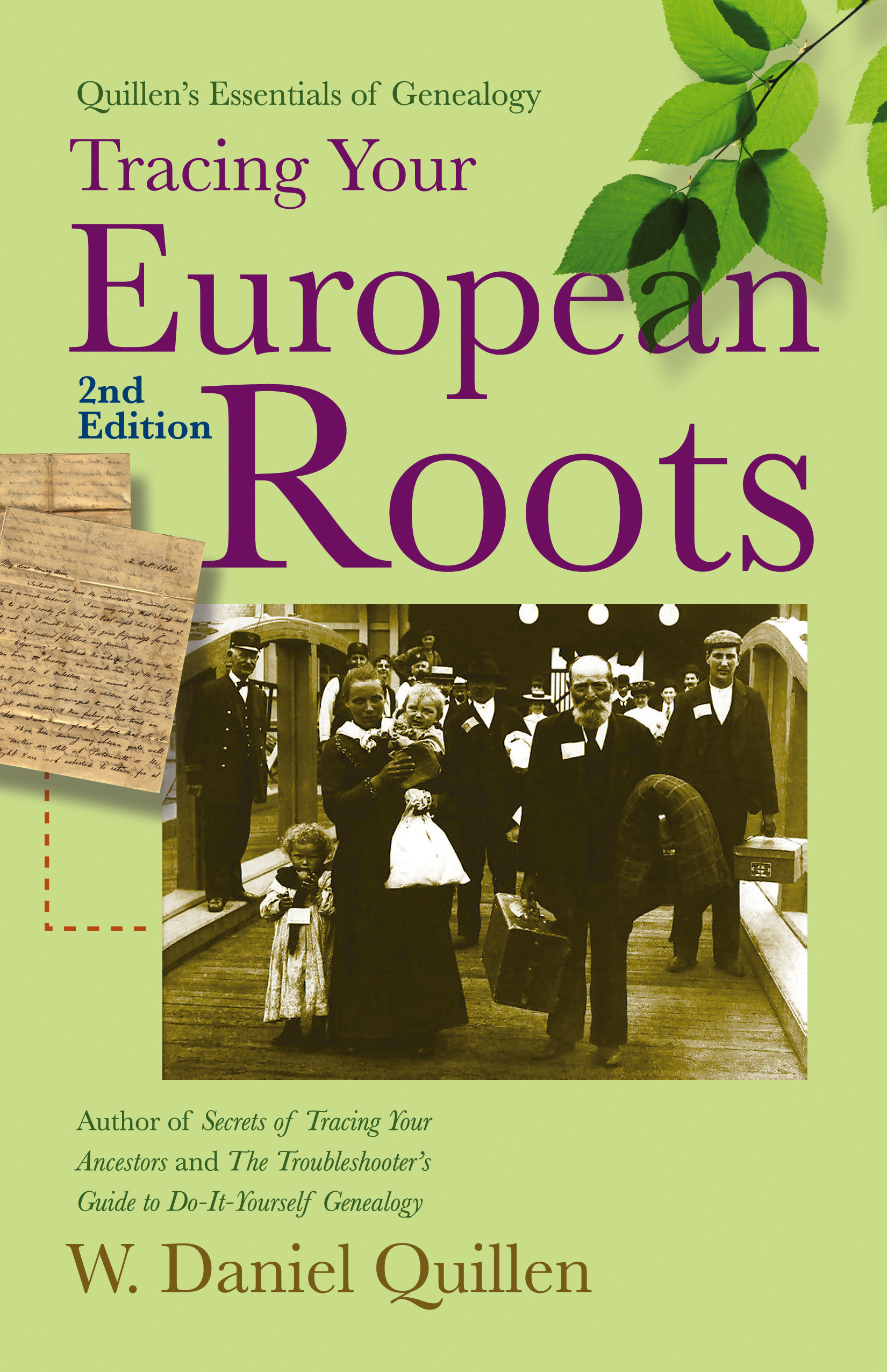 Book Cover Image (jpg): Tracing Your European Roots, 2E