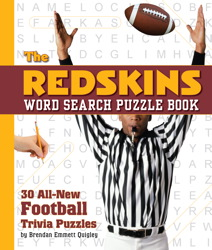 The Redskins Word Search Puzzle