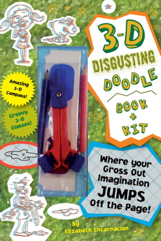 3-D Disgusting Doodles Book & Kit