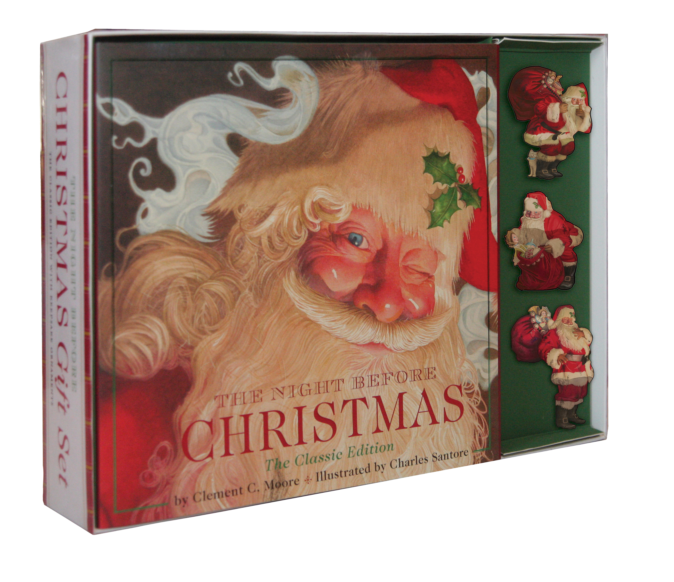Night Before Christmas Gift Set | Book by Clement Clarke Moore ...