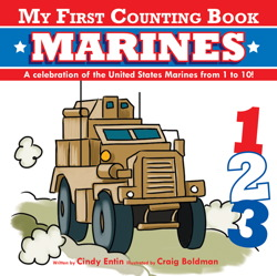 My First Counting Book: Marines