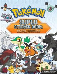 Pokémon Super Sticker Book: Unova Region!