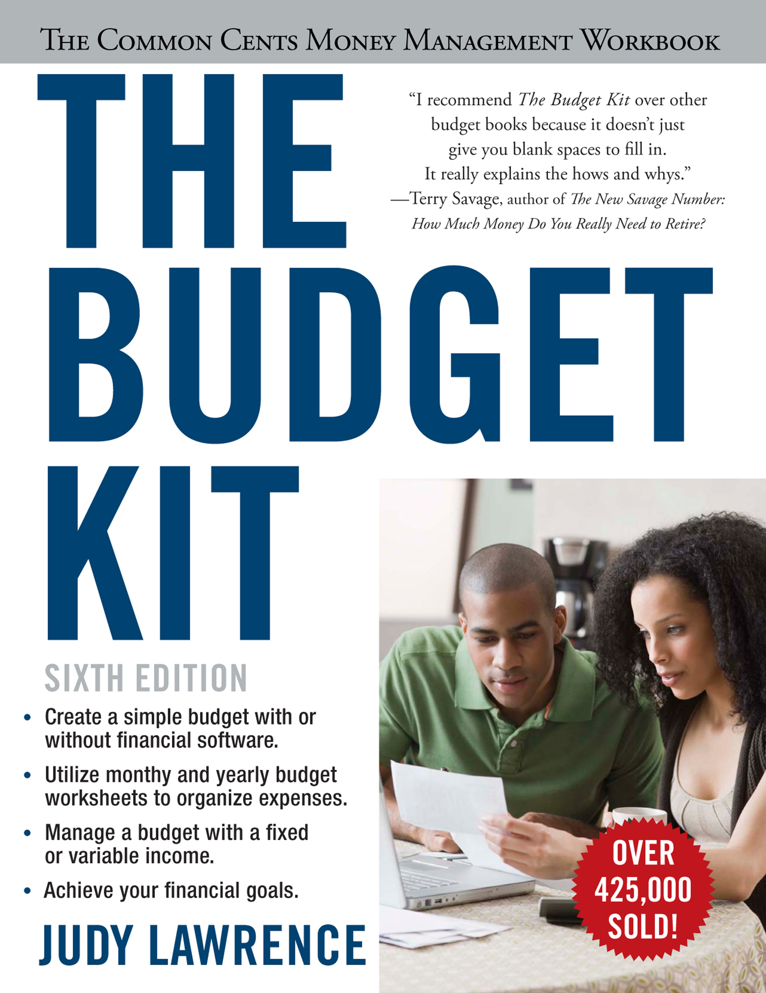 the budget kit book by judy lawrence official publisher page