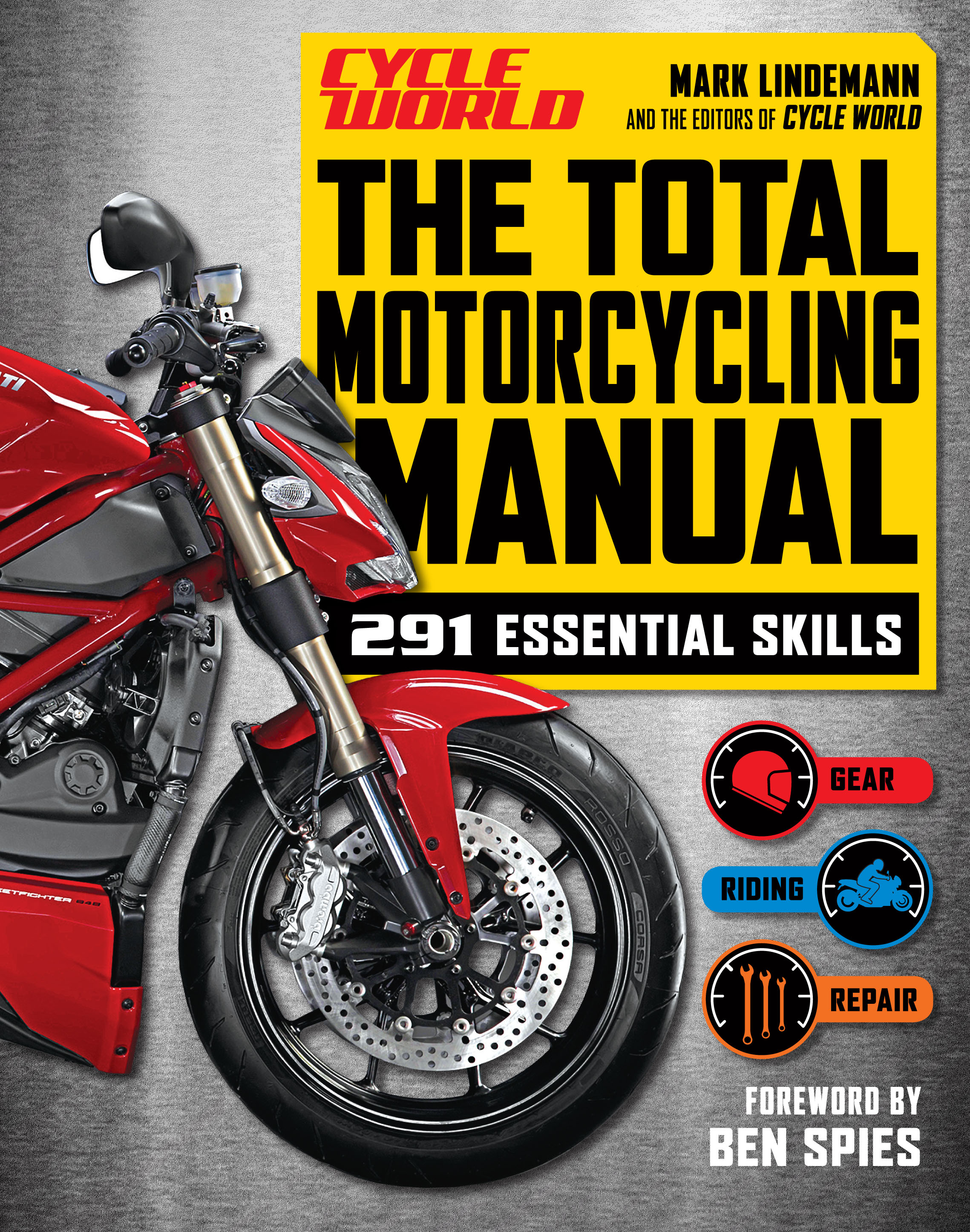 the total motorcycling manual cycle world book by mark lindemann rh simonandschuster com hero motorcycle repair guide honda motorcycle repair guide