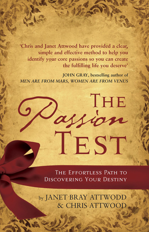 The Passion Test Ebook By Janet Bray Attwood Chris border=