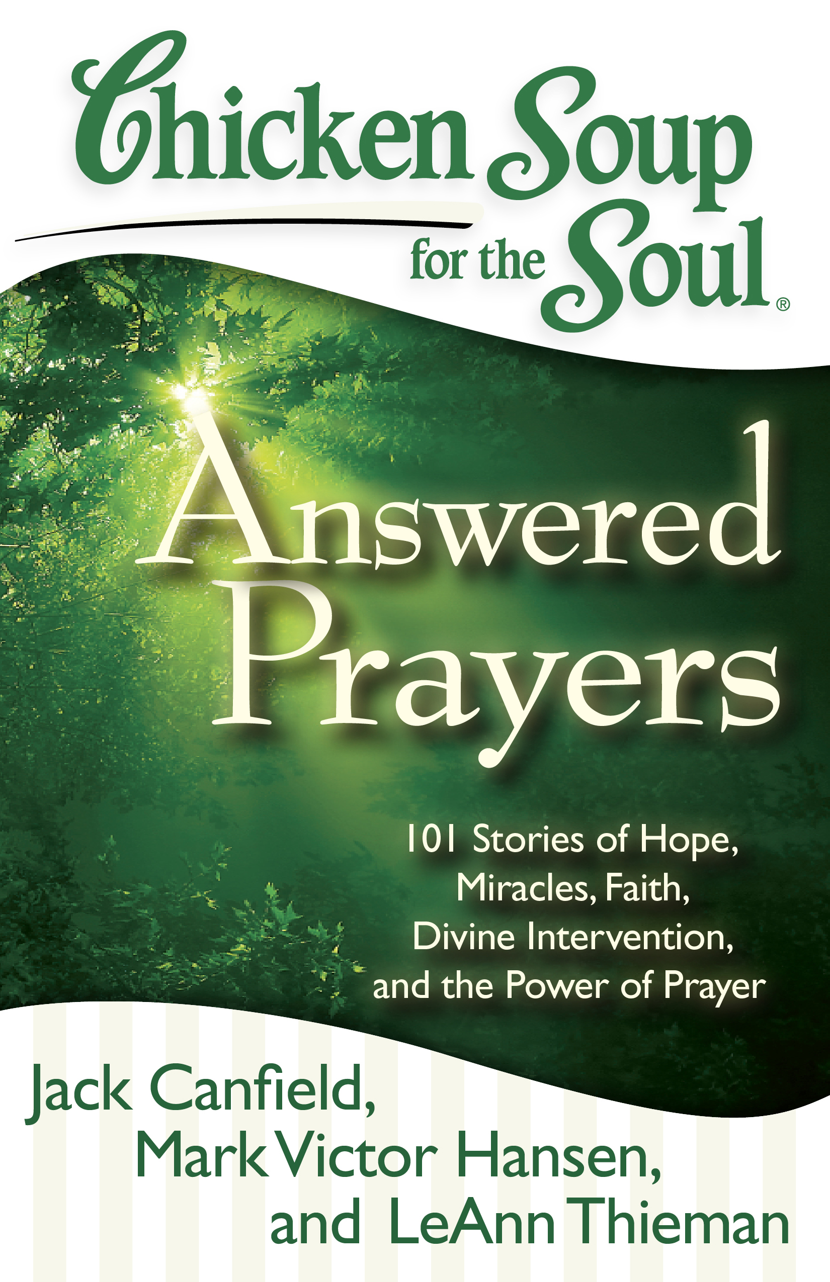 Chicken Soup For The Soul Answered Prayers Book By Jack Canfield