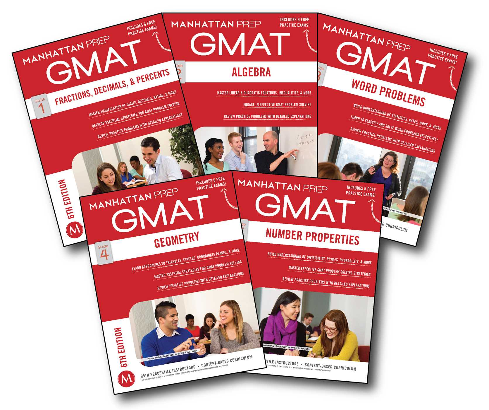 Book Cover Image (jpg): GMAT Quantitative Strategy Guide Set
