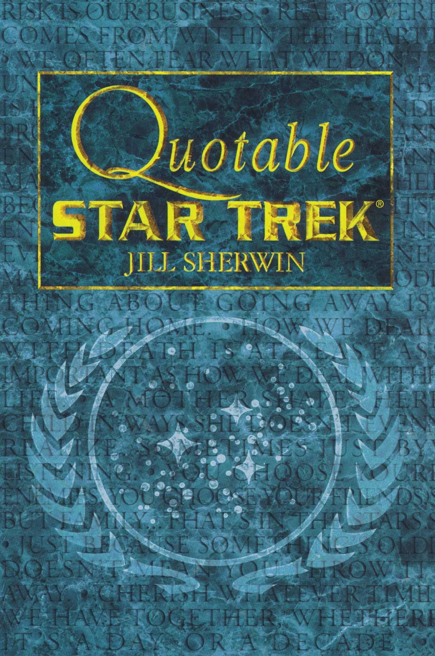 Star trek quotable star trek 9780671024574 hr
