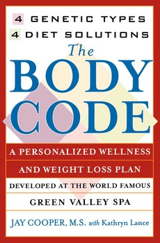 The Body Code Book By Kathryn Lance Jay Cooper Official