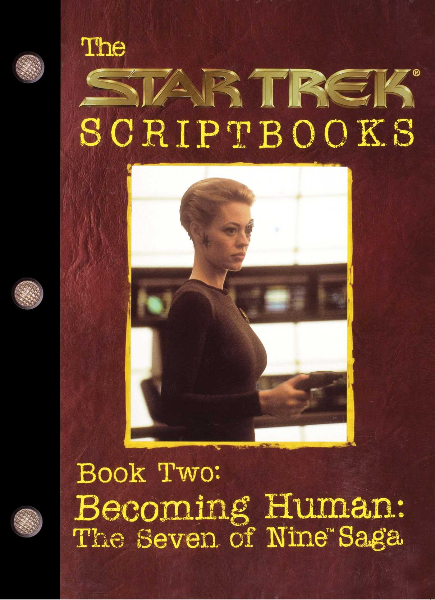 Becoming human the seven of nine saga 9780671034474 hr