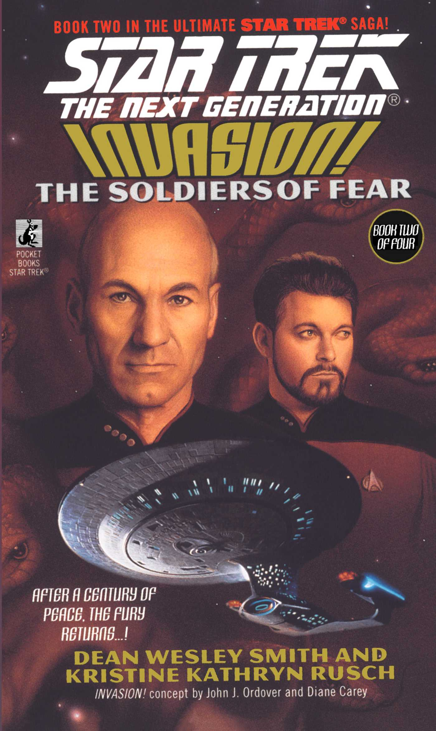 The soldiers of fear 9780671040963 hr