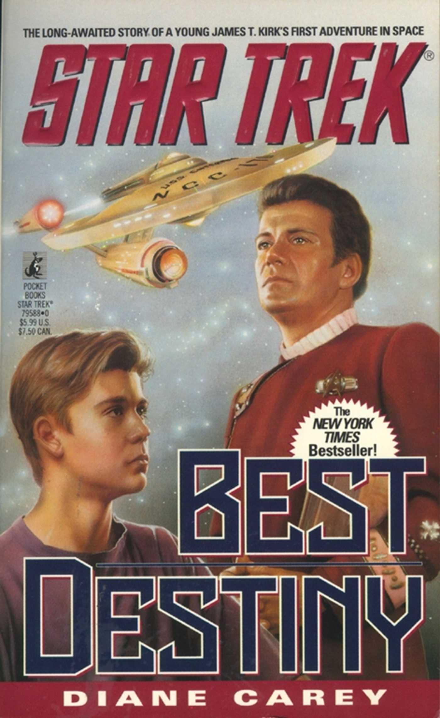 Star trek best destiny 9780671041113 hr