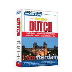 Pimsleur Dutch Basic Course - Level 1 Lessons 1-10 CD
