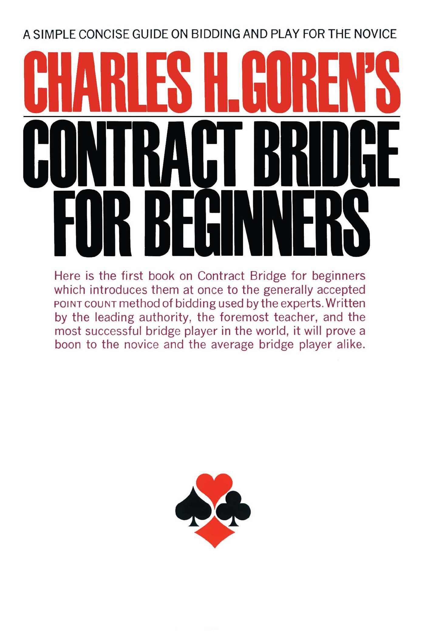 Contract bridge for beginners 9780671210526 hr