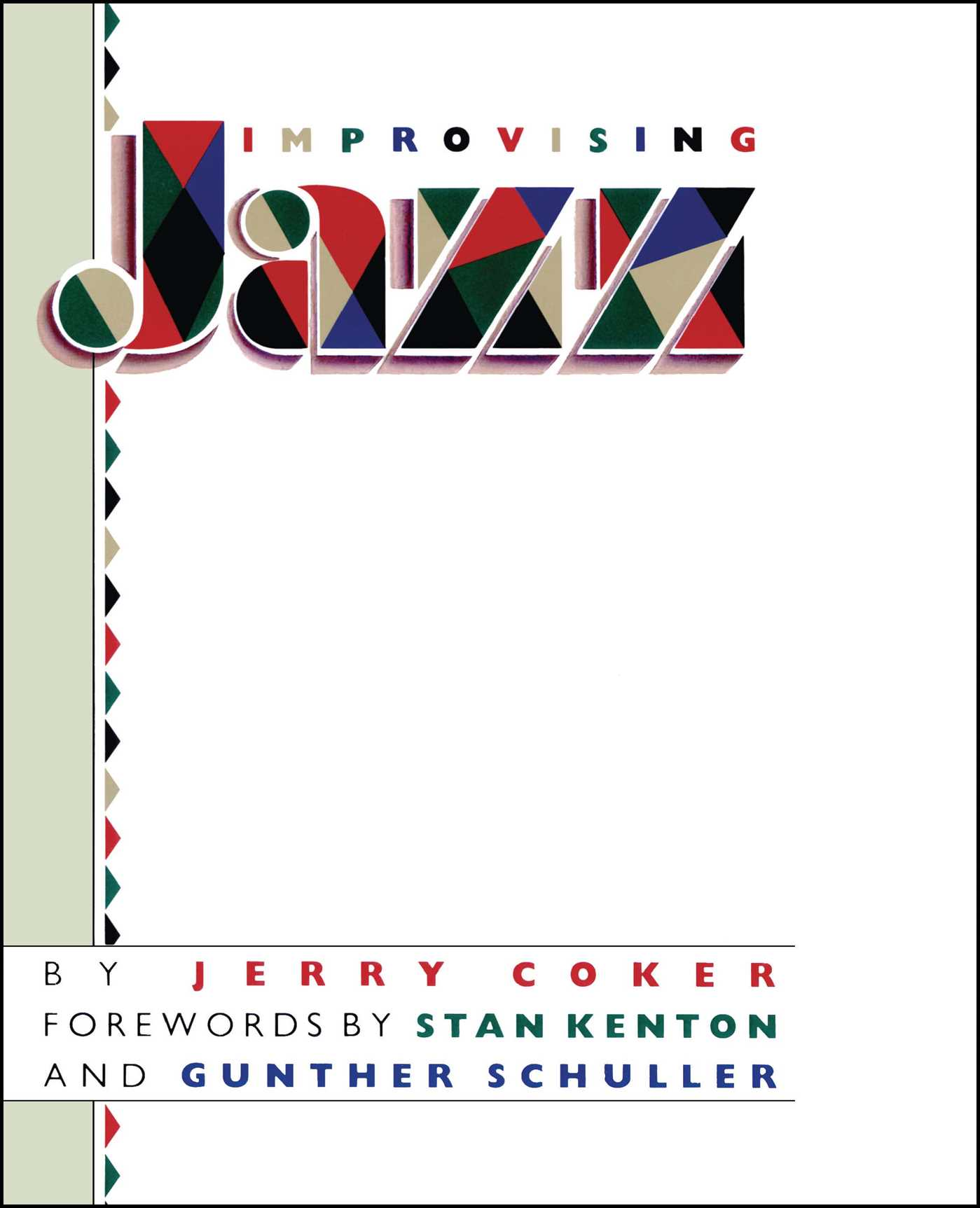 Improvising Jazz | Book by Jerry Coker | Official Publisher Page