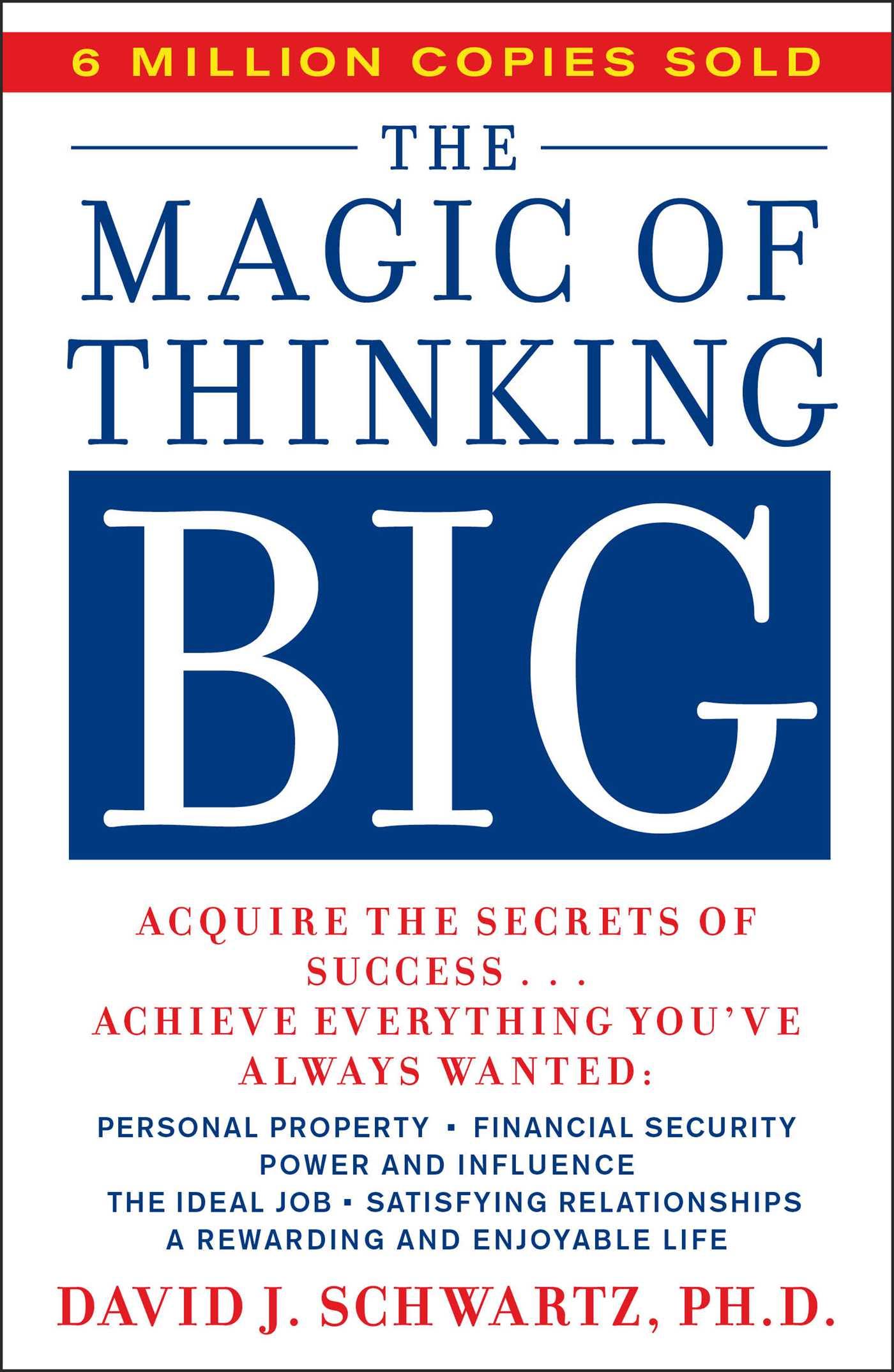 Magic of thinking big 9780671646783 hr
