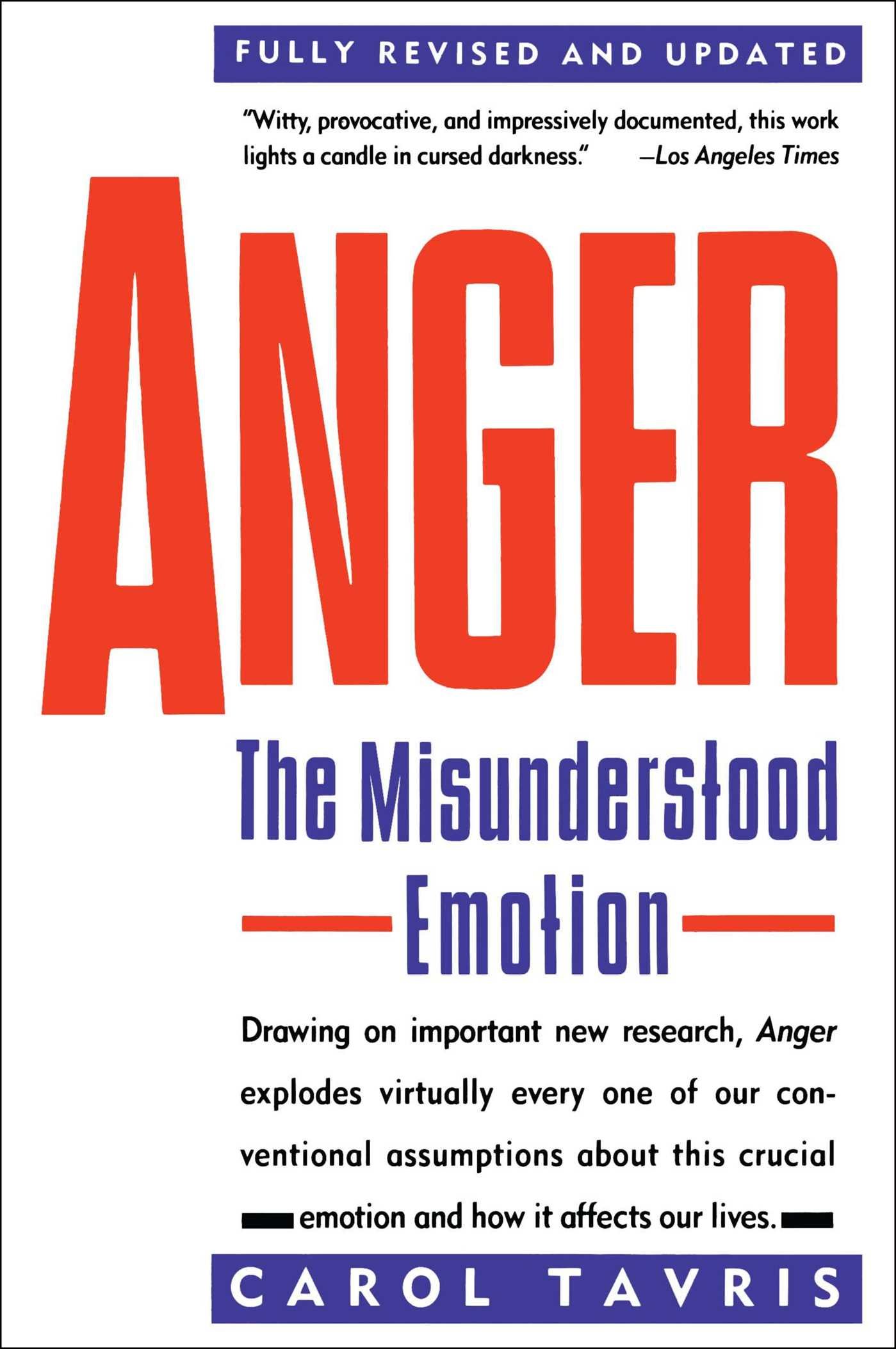 Anger 9780671675233 hr