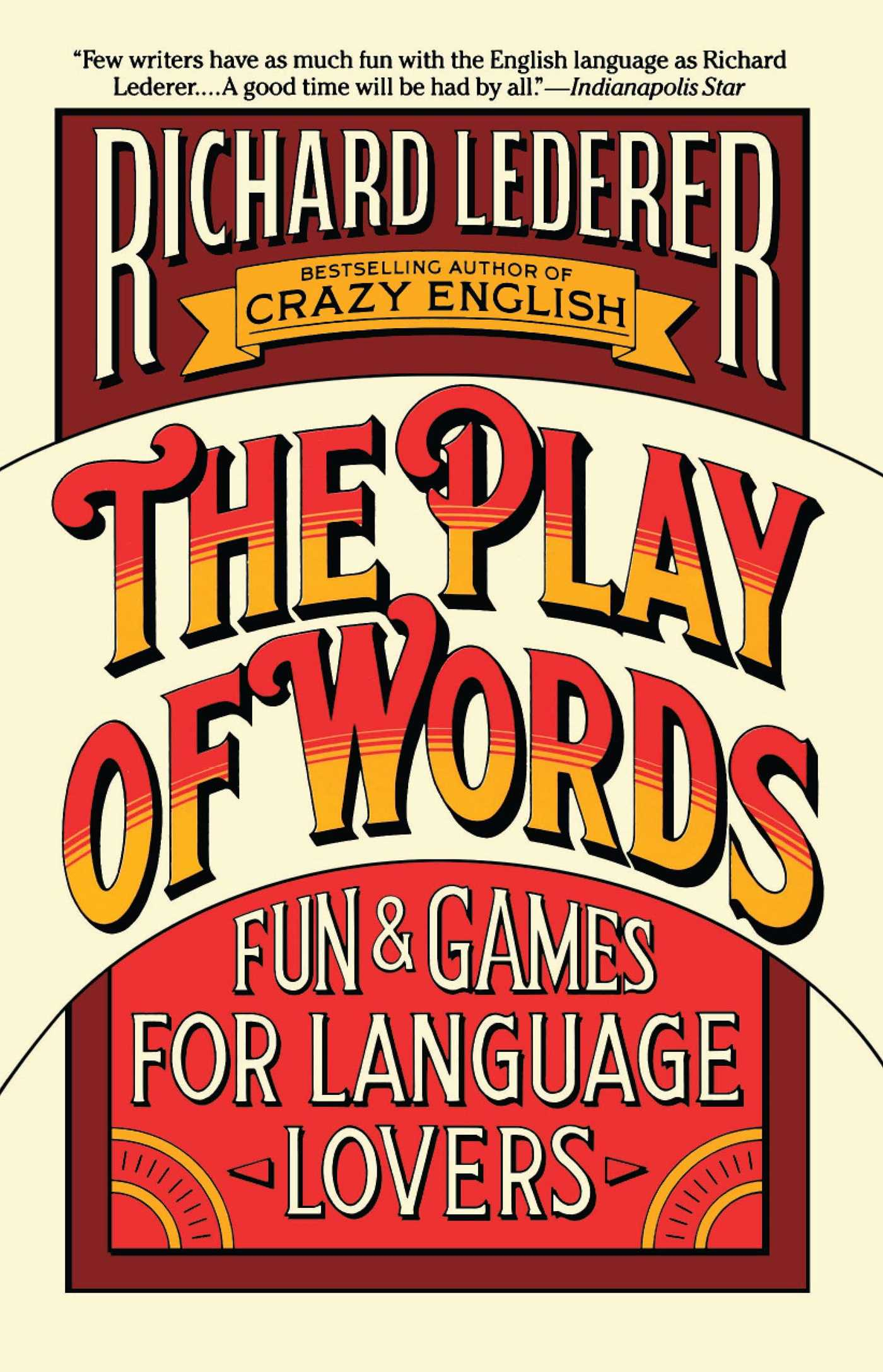 The play of words 9780671689094 hr