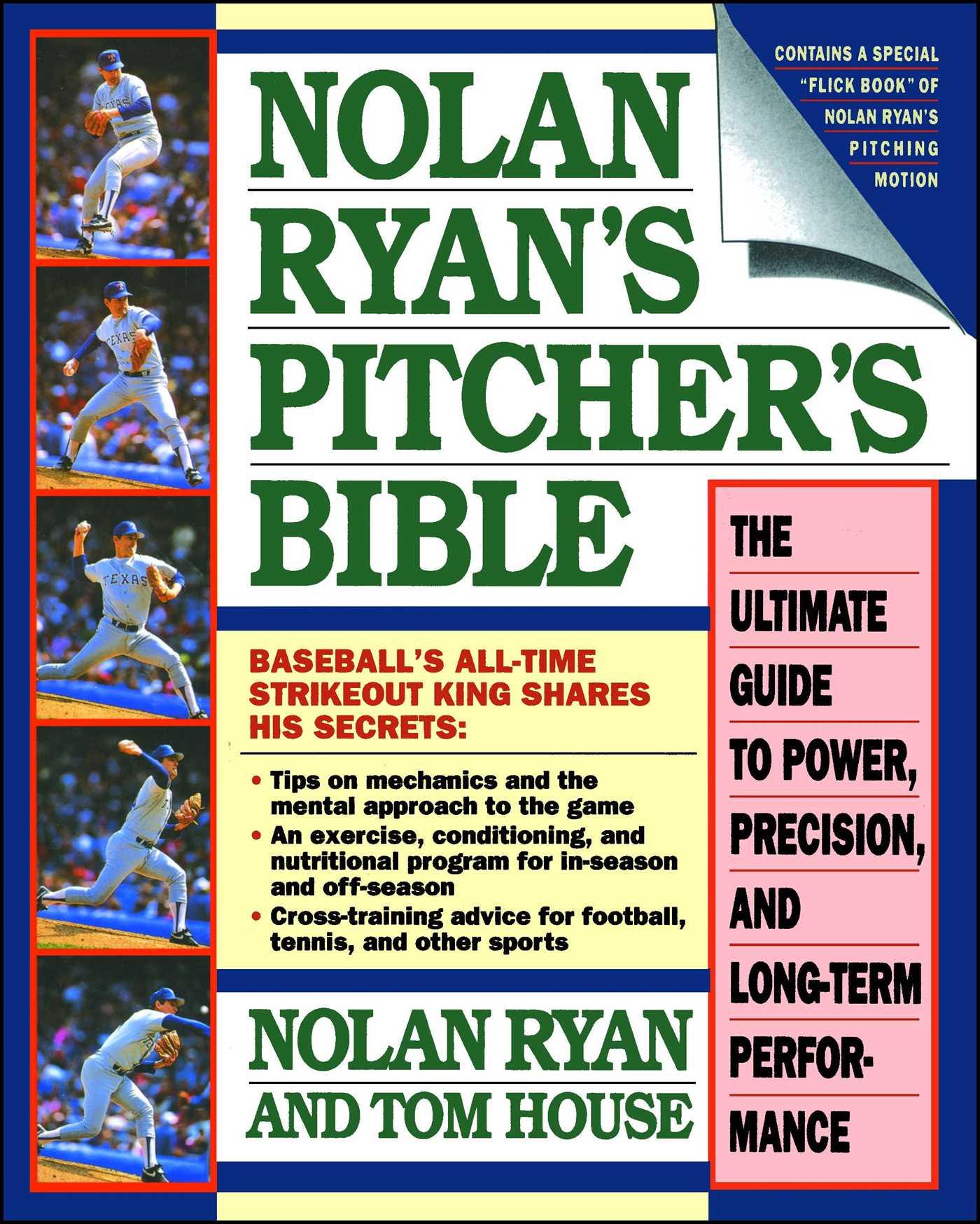 Nolan ryans pitchers bible 9780671705817 hr