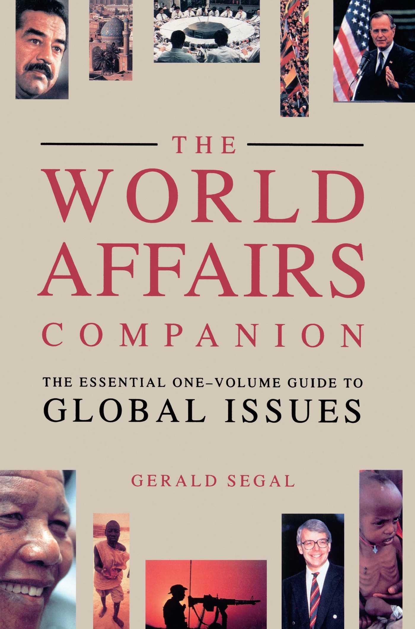 World affairs companion 9780671741563 hr