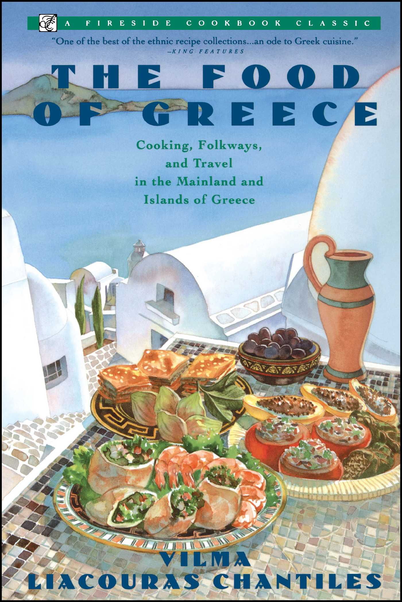 Food of greece book by vilma chantiles official publisher page food of greece 9780671750961 hr forumfinder Choice Image