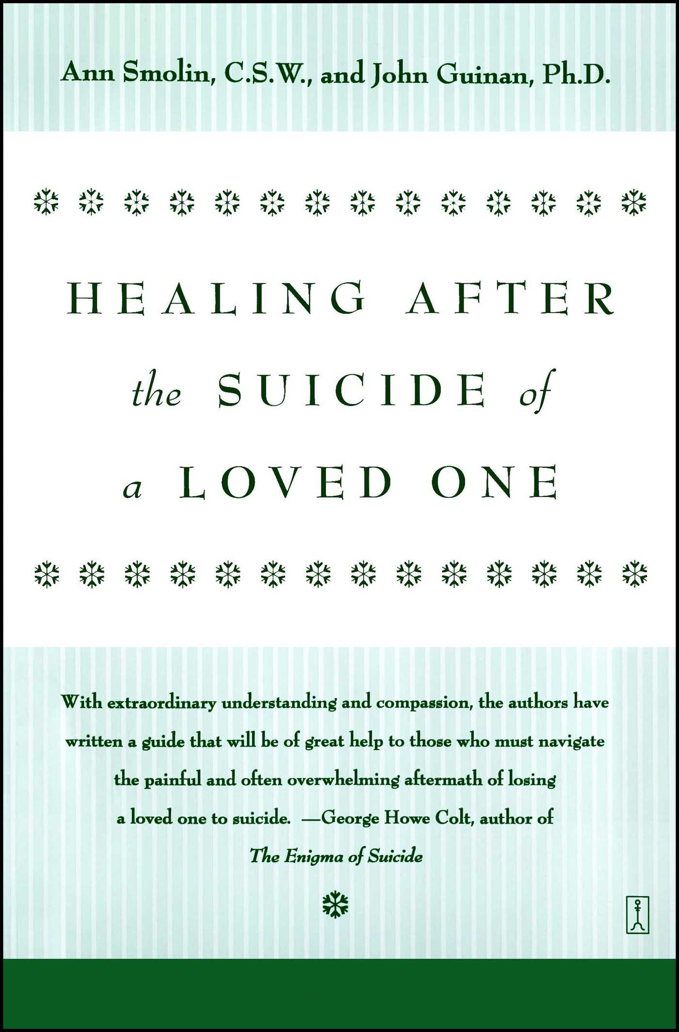 When a Loved One Is a Suicide Risk forecasting