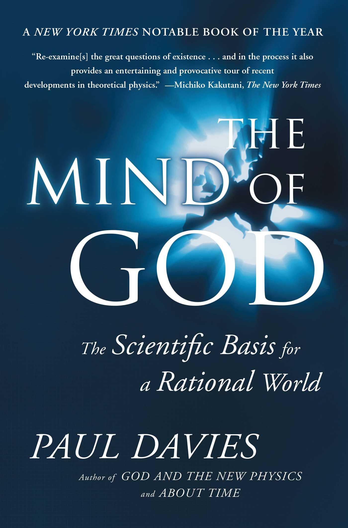 Mind of god 9780671797188 hr