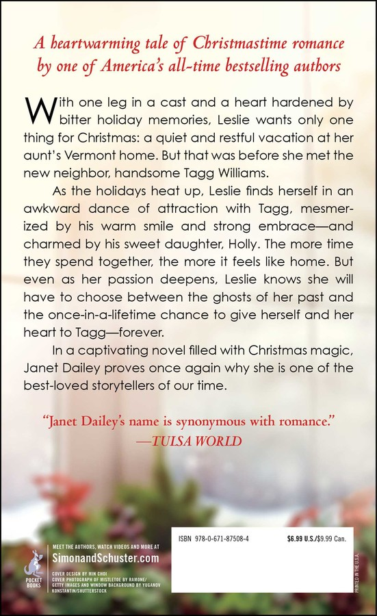 Mistletoe And Holly Book By Janet Dailey Official Publisher Page
