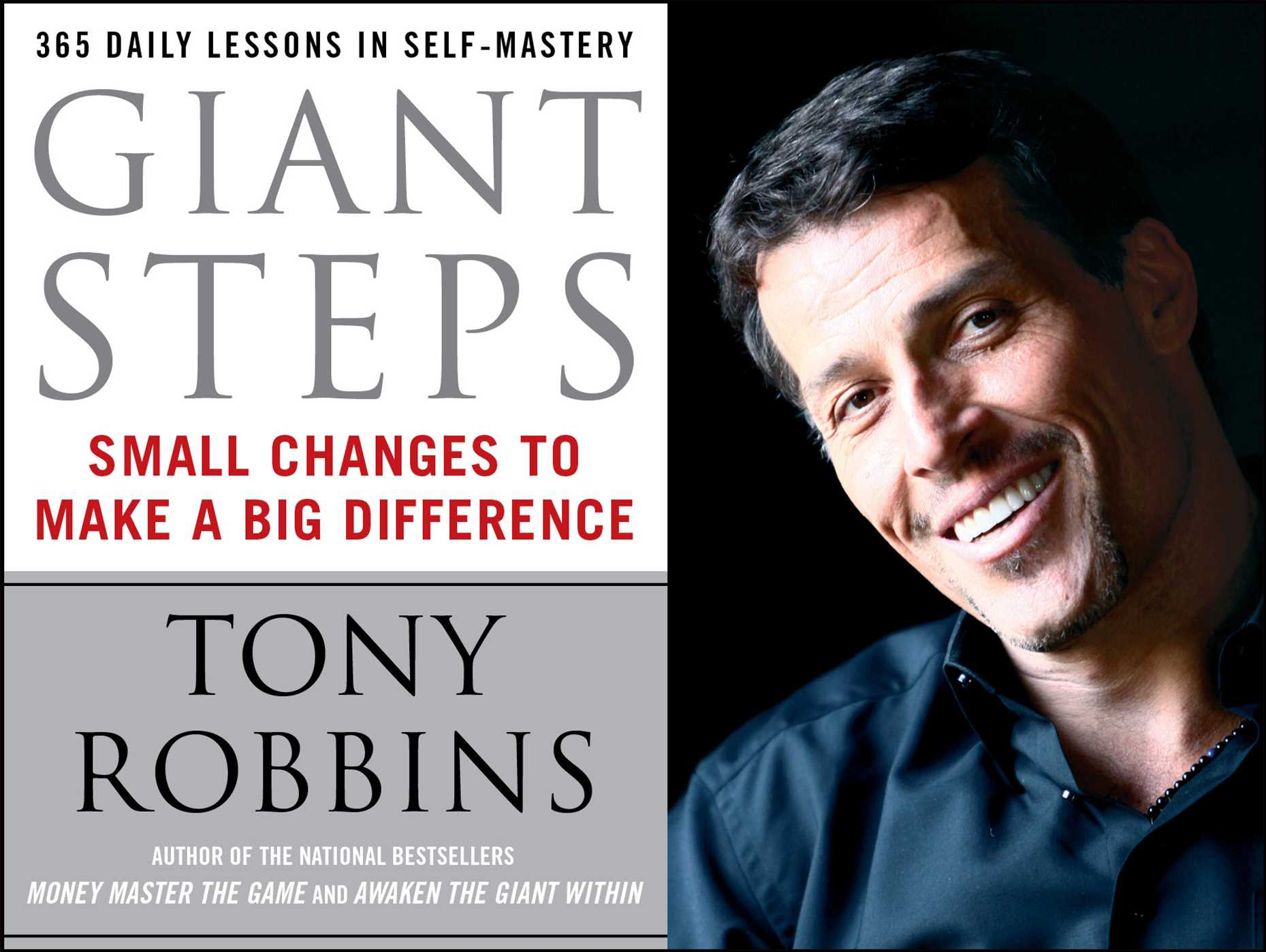 Giant Steps | Book by Tony Robbins | Official Publisher Page