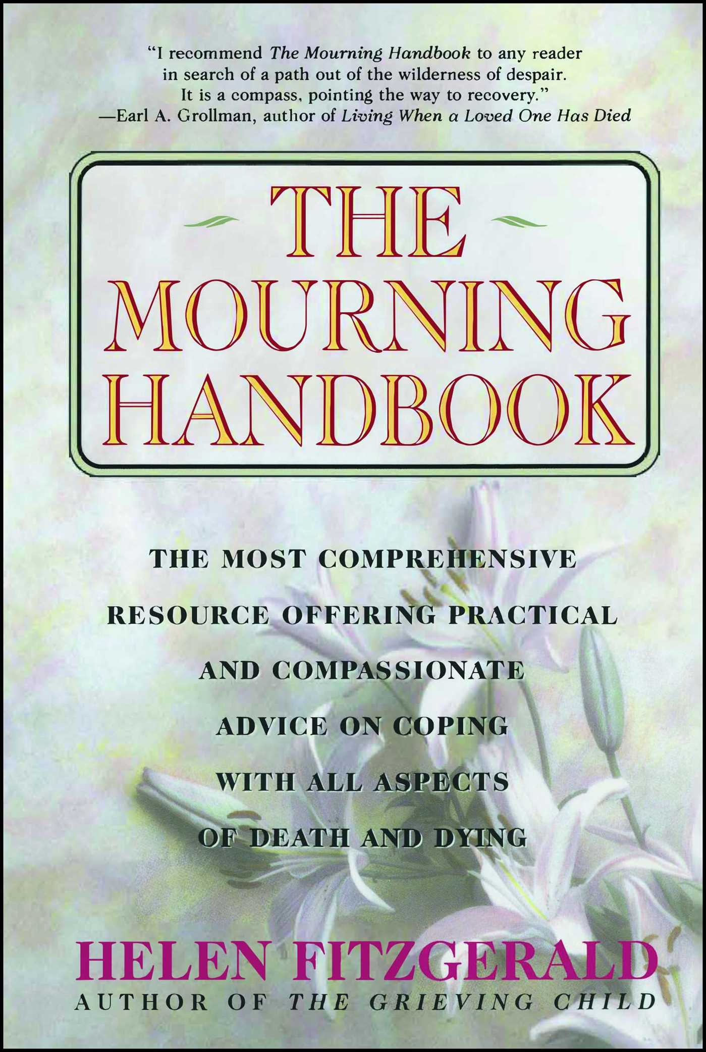 Book Cover Image (jpg): The Mourning Handbook