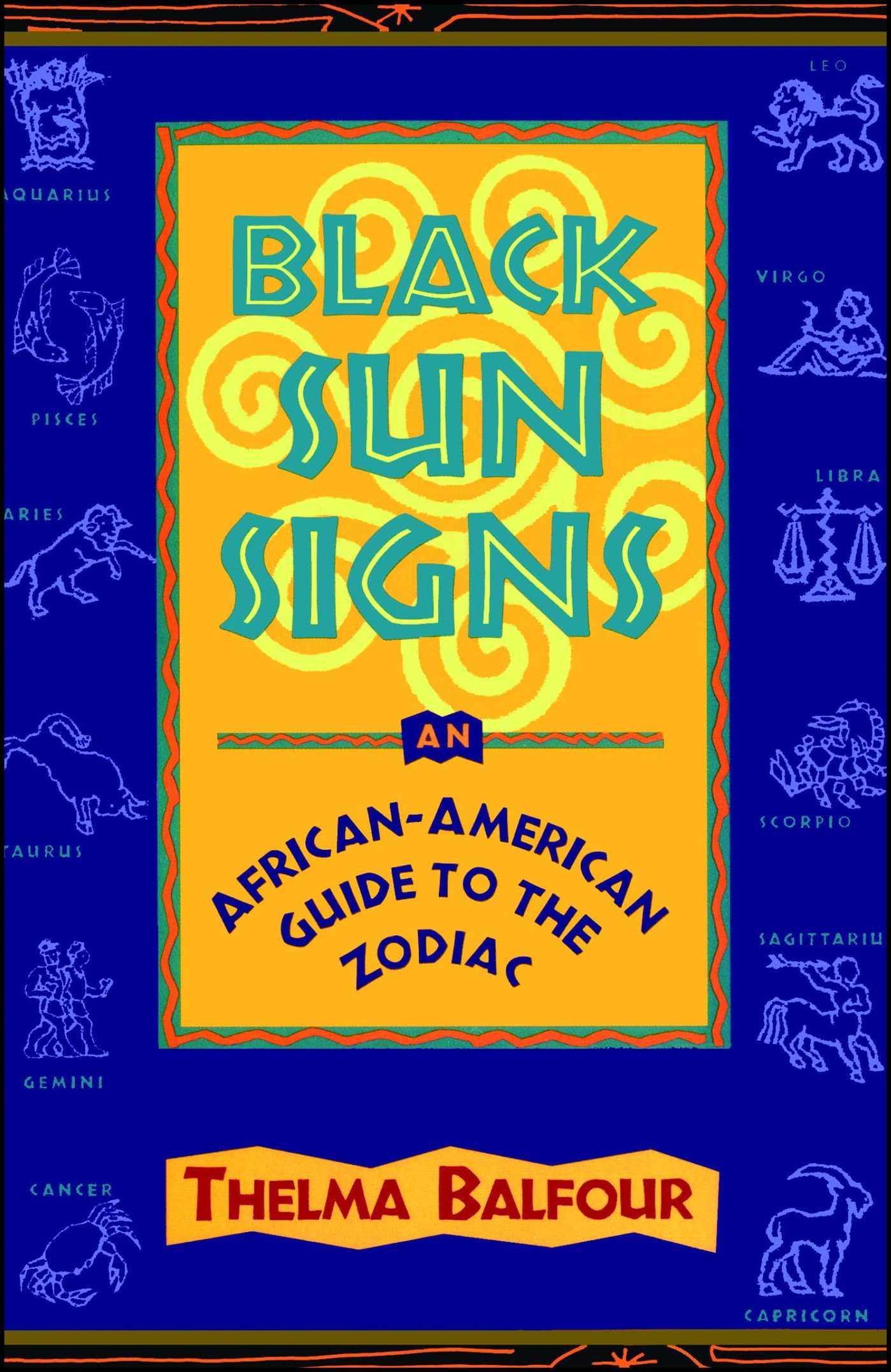 Black sun signs 9780684812090 hr