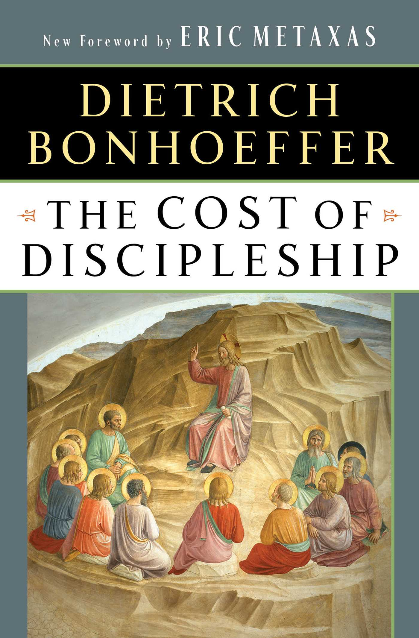 The cost of discipleship 9780684815008 hr