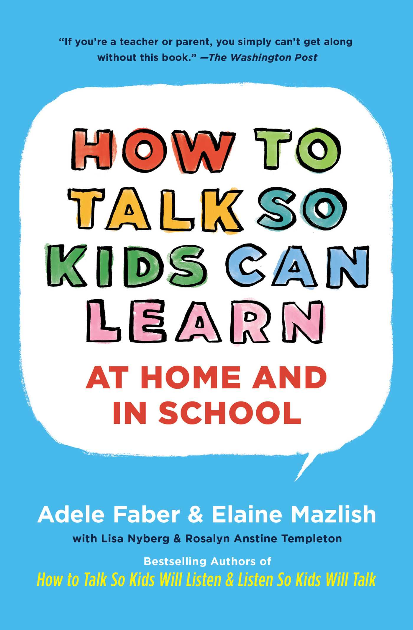 How To Talk So Kids Can Learn Book By Adele Faber Elaine Mazlish Parallel Circuit For Science School Home Cover Image