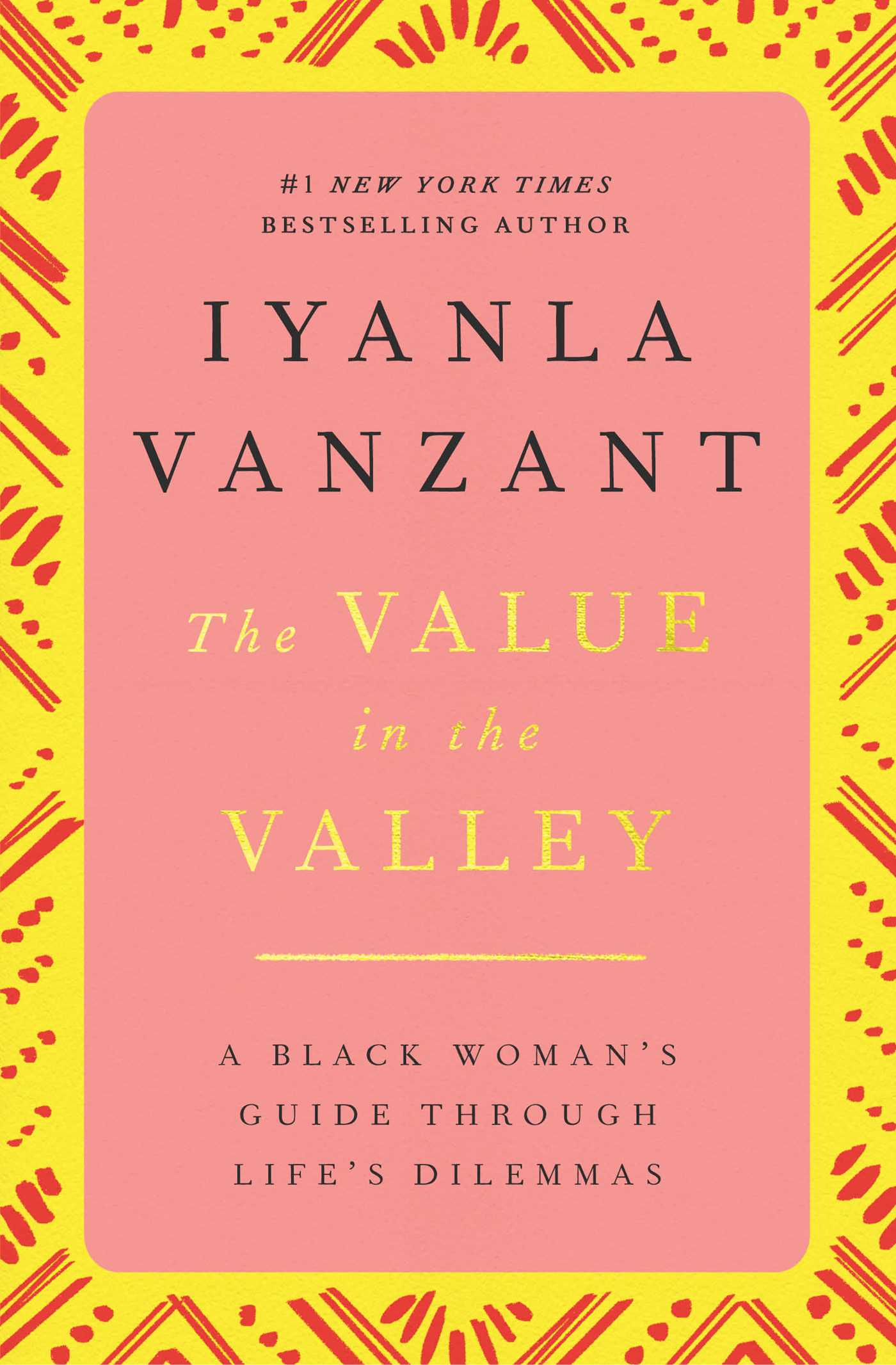 The value in the valley book by iyanla vanzant official the value in the valley 9780684824758 hr fandeluxe Choice Image