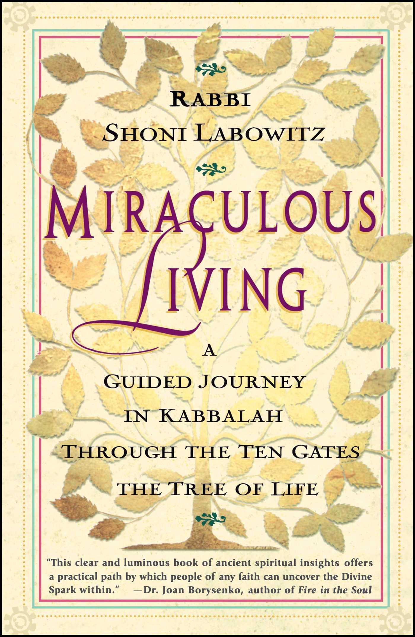 Miraculous living 9780684835563 hr