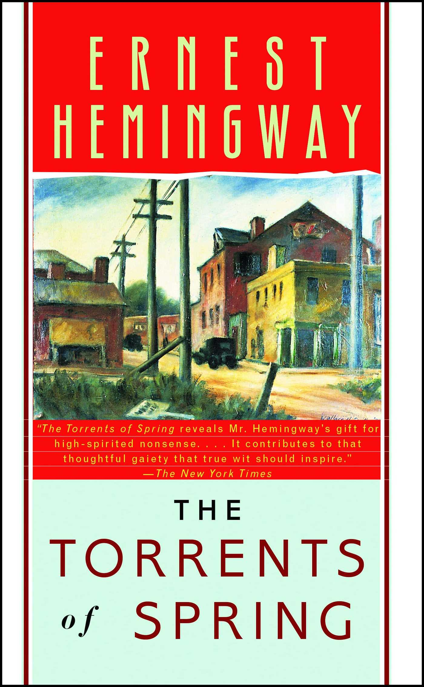 The torrents of spring | book by ernest hemingway | official.