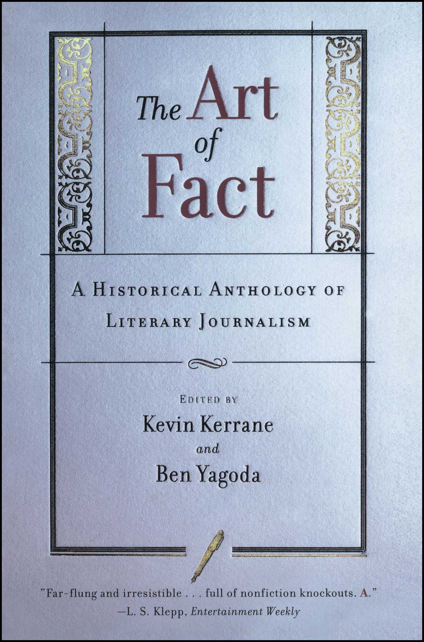 Book Cover Image (jpg): The Art of Fact