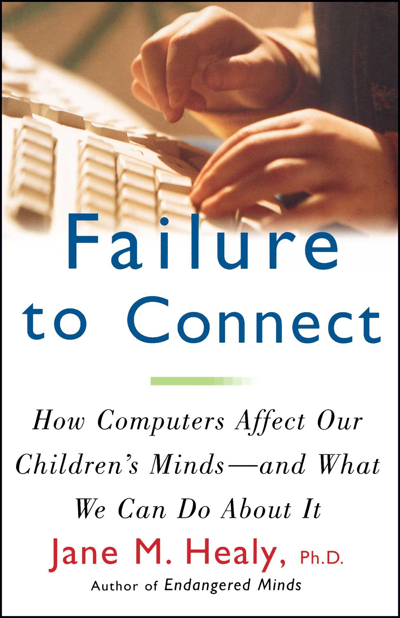 Image result for failure to connect book