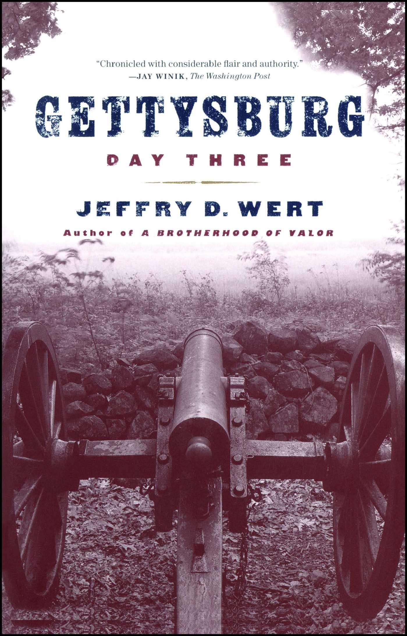 Gettysburg day three 9780684859156 hr