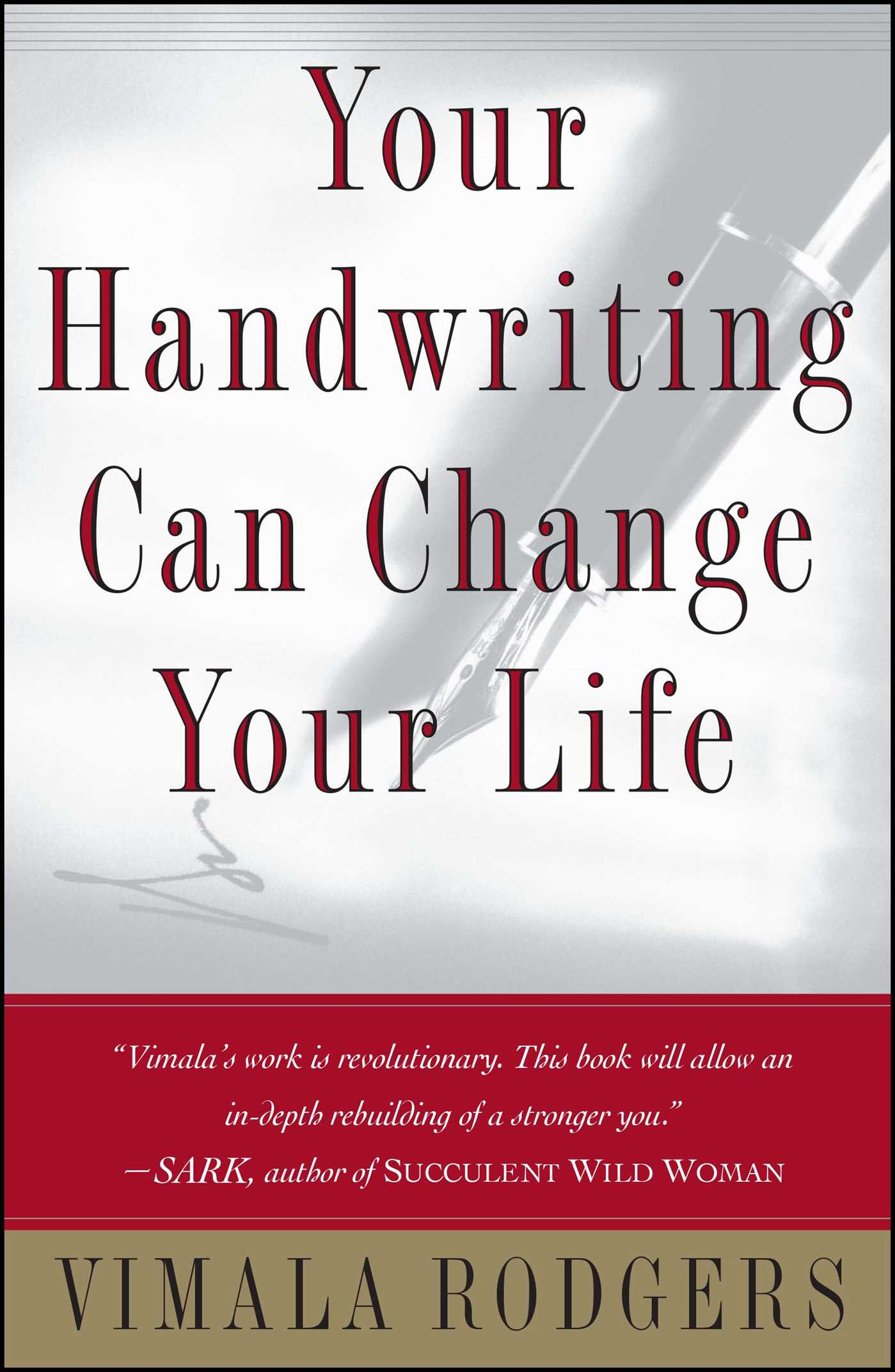 Your handwriting can change your life 9780684865416 hr