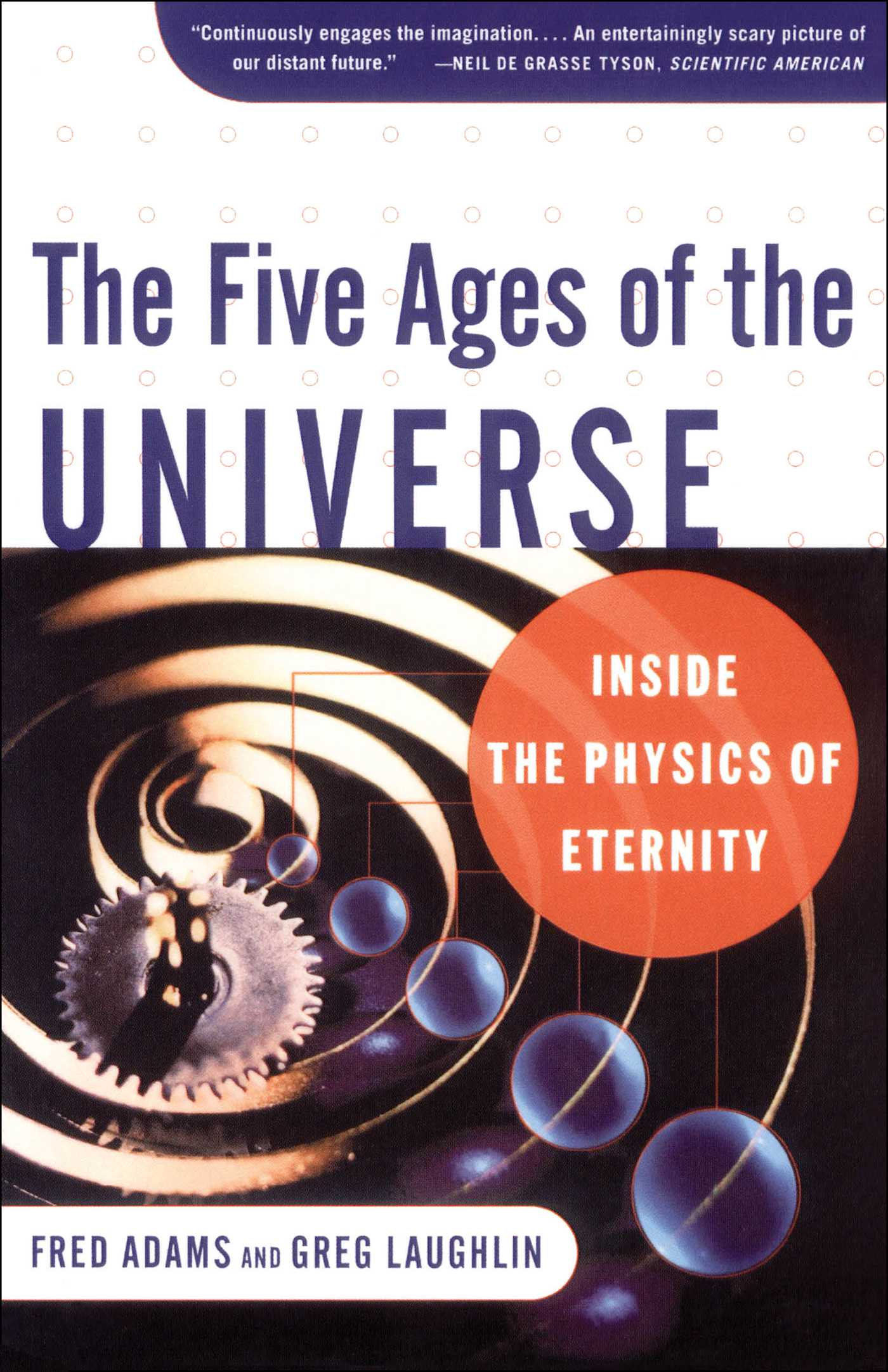 The five ages of the universe 9780684865768 hr