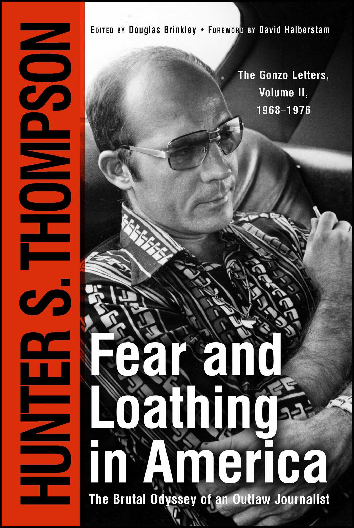 Fear And Loathing In America Book By Hunter S Thompson Official Cover Letter