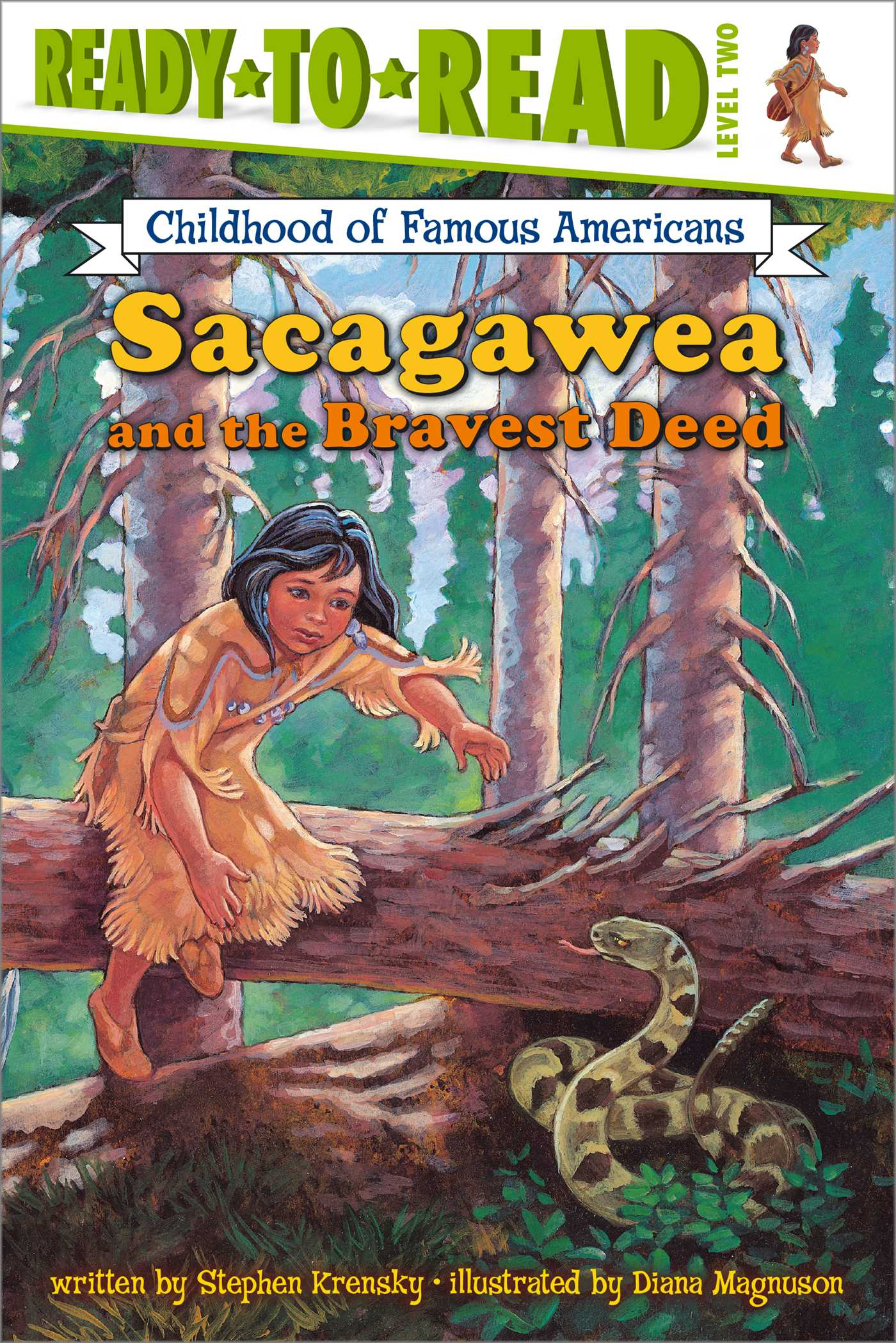 Sacagawea and the bravest deed 9780689848032 hr